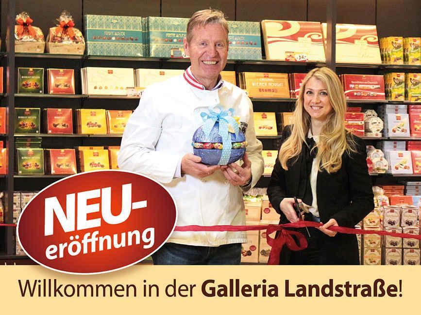 Neueröffnung Galleria Landstraße