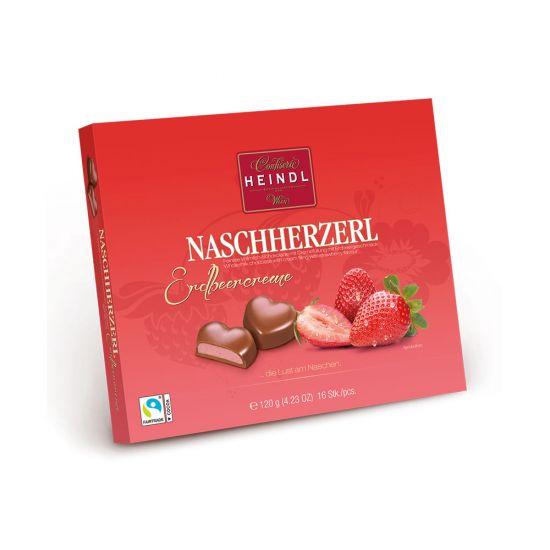 Nasch Herzerl Erdbeer 120g