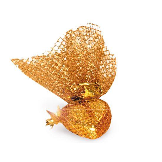 Mozartherz in goldenem Netz 420g, 30 Stk