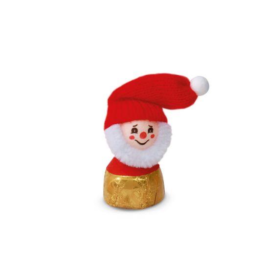Weihnachtsmann auf Nusskrokantpraline 360g, 24 Stk